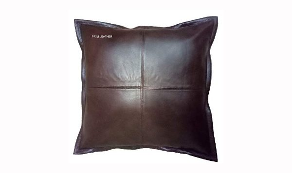 Prim Leather 100% Lambskin Pillow Cover