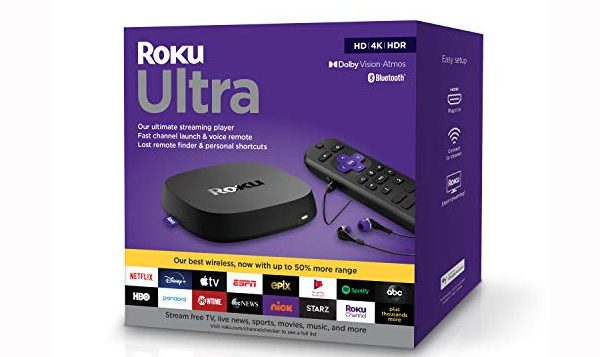 Roku Ultra 2020 Streaming HD Media Player